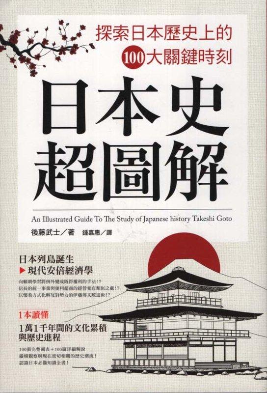 日本史超圖解 : 探索日本歷史上的100大關鍵時刻