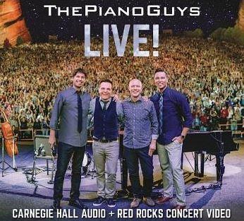 酷音樂團 卡內基大廳現場演奏會 = The Piano Guys Live! : Carnegie hall audio