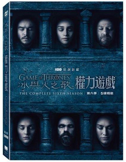 冰與火之歌. 權力遊戲 = Game of thrones : the complete sixth season