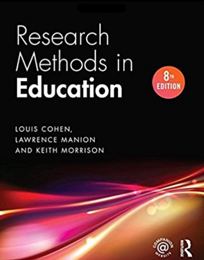 Research methods in education /