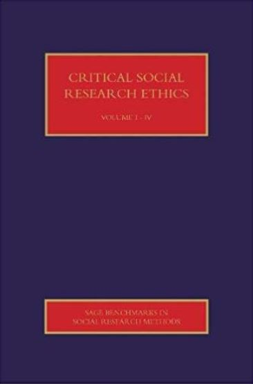 Critical social research ethics /