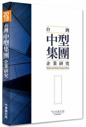 台灣中型集團企業研究 = Medium Sizs Business Group in Taiwan 中華徵信所著