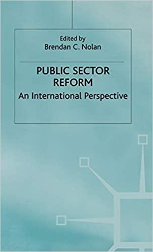 Public sector reform : an international perspective / edited by Brendan C. Nolan.