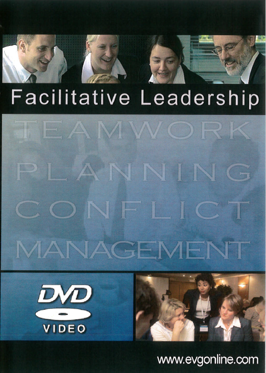Facilitative leadership [videorecording] / scripted by Kathy Domenici and Stephen W. Littlejohn ; a production by Domenici Littlejohn, Inc. in association with Janet M. Cramer and Richard J. Schaefer.