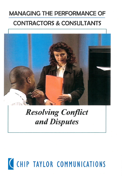 Resolving conflict and disputes [videorecording] / produced by VEA Productions ; Chip Taylor Communications.